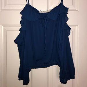 Tops - Navy blue shirt